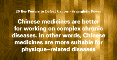 """05 Synergistic Power: The """"Synergy"""" Found in Chinese Herbal Medicines."""